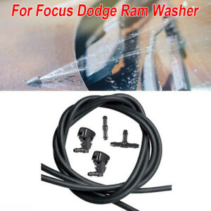 Car Windshield Nozzle Kit Washer Wiper Water Spray For Dodge Caliber 2007 2012
