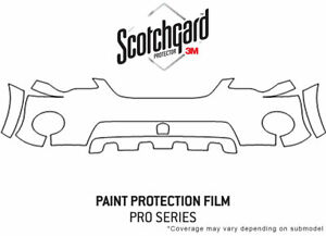 3m Pro Shield Paint Protection Kit For Subaru Outback 2005 2007 Bumper Pp