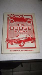 The Dodge Story Bythomas Mcpherson 1914 Thru 1975 1933 1934 1935