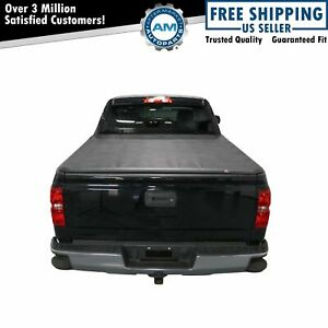 Tonneau Cover Hard Tri fold Easy Install For Silverado Sierra 1500 5 8 Bed