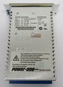 Power One Ac dc Converter Power Supply Cpa250 4530 250w