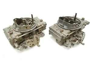 Vintage Super Stock Pro Stock Racing Carburetors 2x4 Dual Quad Tunnel Ram Blower