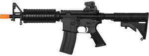 Lancer Tactical LT 81C M4 Airsoft Gas Blowback Rifle CQB RIS GBBR Black $189.99