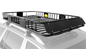 Roof Rack Basket Rooftop Cargo Carrier 64 x 39 x 6 Car Top Luggage Holder