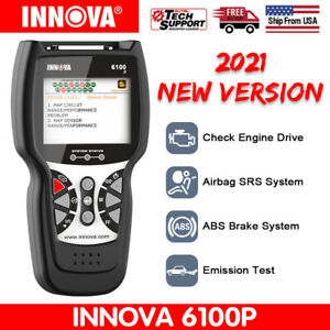 Innova 6100p Obd2 Diagnostic Scanner Engine Code Reader Scan Tool Abs Reset Us