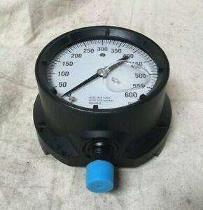 Ashcroft 451379ssl04l600 4 1 2 General Purpose Pressure Gauge 0 To 600 Psi