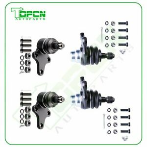 Fits Toyota Pickup 2wd Pair 4 Upper And Lower Ball Joint Suspension Kit