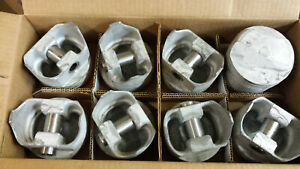 396 Chevy Forged Pistons L2242f Standard Bore Set Of 8