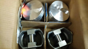 L2505f 030 Over Trw Forged Pistons 4 Pistons 350 Chevy
