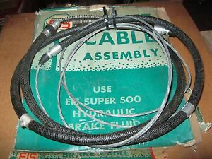 New 1960 Mercury Comet Rear Brake Cable Made In Usa