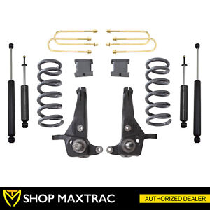 Maxtrac 6 Front 3 Rear Lift Kit K883063a 6 For 1998 2000 Ford Ranger 2wd 6cyl