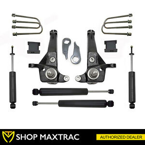 Maxtrac 5 Front 3 Rear Lift Kit Shocks K883053c For 2001 2009 Ford Ranger 2wd