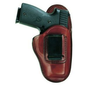 Bianchi 26083 Professional Belt Holster Tan Leather Lh For S w M p Shield 9mm
