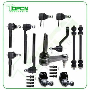 Qty 12 Ball Joints Sway Bars Tie Rods Suspension Fits Dodge Ram 2500 3500 2wd
