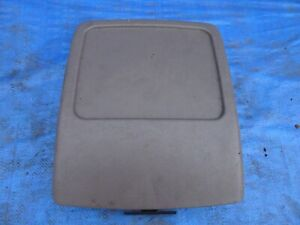1992 1996 Ford F150 F250 F350 Bronco Center Console Cover Lid Dark Gray Oem Xlt
