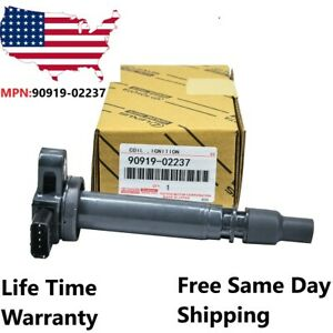 Oem 1x Denso Ignition Coil For 2000 2004 Toyota Tacoma 2 4l 2 7l 90919 02237