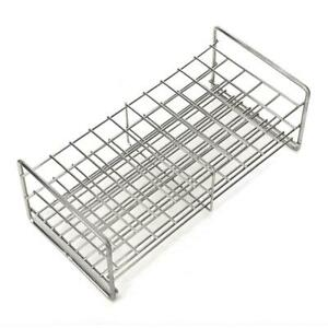 Metal 3 Layers Lab Test Tube Rack Holder Pipe Stand 50holes Medical Tool Durable