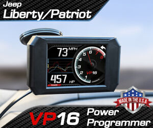 Volo Chip Vp16 Power Programmer Performance Race Tuner For Jeep Liberty Patriot