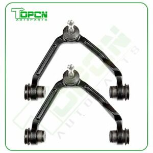 Driver Passenger Front Upper Control Arms Steering Set Fits Expedition F 150