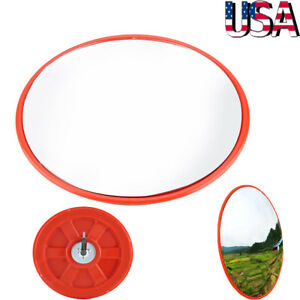 18 Outdoor Road Traffic Convex Pc Mirror Wide Angle Driveway Safety Security