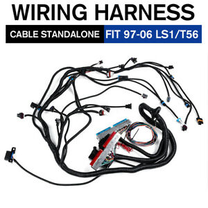 Dbc Ls1 Standalone Wiring Harness T56 Or Non electric Tran 4 8 5 3 6 0 1997 2006