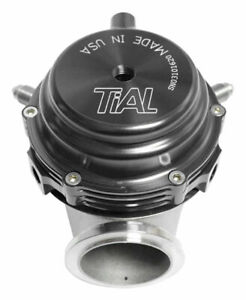 Tial Mvr Wastegate W 7 Springs Flanges Clamps 44mm Black 002949