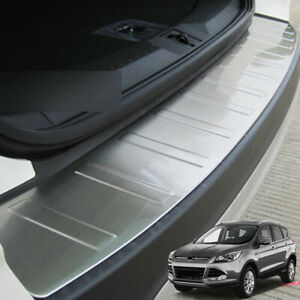Rear Trunk Bumper Protector Cover Trim Guard For Ford Escape Kuga 2 Car Styling