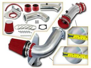 For 99 04 Ford Mustang Base 3 8l V6 Coupe Cold Air Intake Red Filter Kit