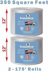 3 16 Bubble Wrap Padding Roll 350 x 12 Wide Perf 12 350ft Free Shipping Usa