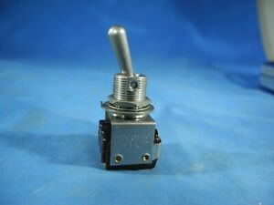 Micro Switch honeywell Toggle Switch 3pdt On none on 6at10 Nos free Fast Ship