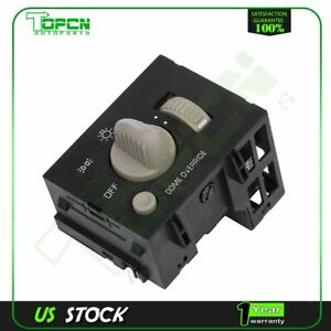 Headlight Switch And Instrument Panel Dimmer Switch Fits Chevy Gmc New
