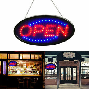 Ultra Bright Led Neon Open Sign For Business Store Animated Motion On off Light