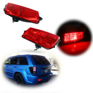 Led Tail brake Lamps Fog Lights For 2005 2010 Wk1 Jeep Grand Cherokee