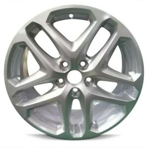 17 Silver Factory Replacement Wheel Fits 13 16 Ford Fusion 17x7 5 5x108 38mm
