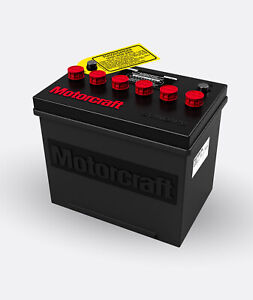 Motorcraft Battery Red Group 24 R 24f 1972 77 Battery Topper