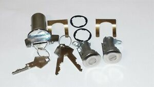 Ignition Door Lock Set Chrysler Dodge Plymouth Coronet Charger Fury 1973 85