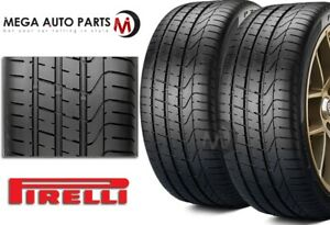 2 Pirelli P zero 235 35zr20 88y Pzero Uhp High Performance Summer Sport Tire