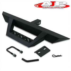 Pickup Truck Suv Trailer Tow Towing Rear Hitch Guard Step Bar For 2 Receiver