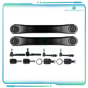 10pc Brand Front Steering Parts Sway Bar Fits 2000 2001 Dodge Ram 1500 4x4 4wd