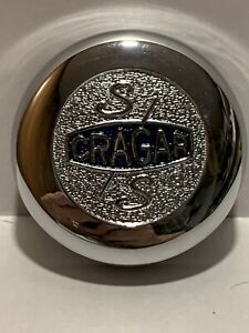 Vintage Cragar Ss Chrome Hub Caps Nos In Original Box Model 09090