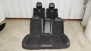 18 Dodge Charger Scat Pack Seats Front Rear Left Right Black Leather Suede Oem