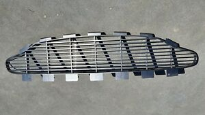 Aston Martin Vanquish Top Front Grille Painted Charcoal 2003 Model Genuine