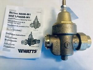 Watts 3 4 Lfn55bm1 u lp Water Pressure Reducing Valve New In Box Fast Shipping