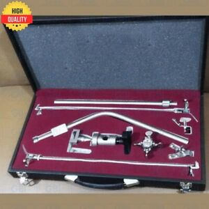 Leyla Brain Retractor Neurosurgery Flexible Arms Complete Set With Carry Box