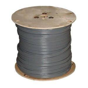 Southwire Outdoor Electrical Wire 1 000 Ft 14 2 Gray Solid Cu Uf b W g Copper