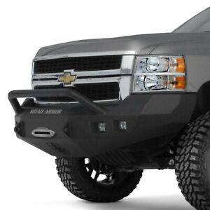 For Chevy Silverado 2500 Hd 11 14 Bumper Stealth Series Full Width Raw Front