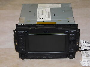 2007 Aspen Durango Grand Cherokee Navigation 6 Disc Cd Player Radio Rec Oem Lkq