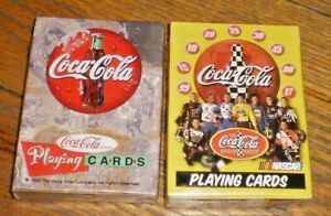 2-SEALED COCA COLA  Playing Cards  USA MADE