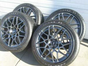 2014 Ford Mustang Shelby Gt 500 Wheels Tires 8 Dbl 16 Spoke Goodyear Eagle 19 20
