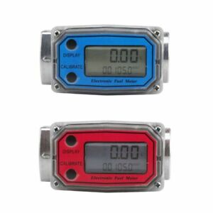 Fuel Flow Meter Turbine Flowmeter Check Digital Diesel Gasoline Liquid Meter